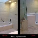 Senior Bathtub on Long Island