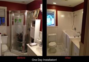 Long Island Walk In Bathtub install