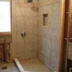 Low Threshold Shower Installation