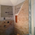 Nassau Tile Shower Install