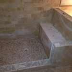 Long Island Shower Bench