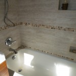 Long Island Tiled Bathroom and Tub