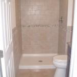 Low Threshold Shower Install