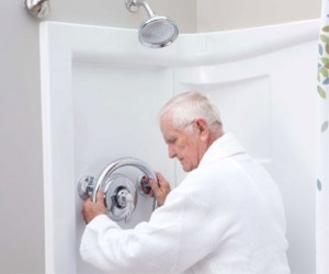Elderly Shower Grab Bar