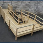 Wood Modular Ramp