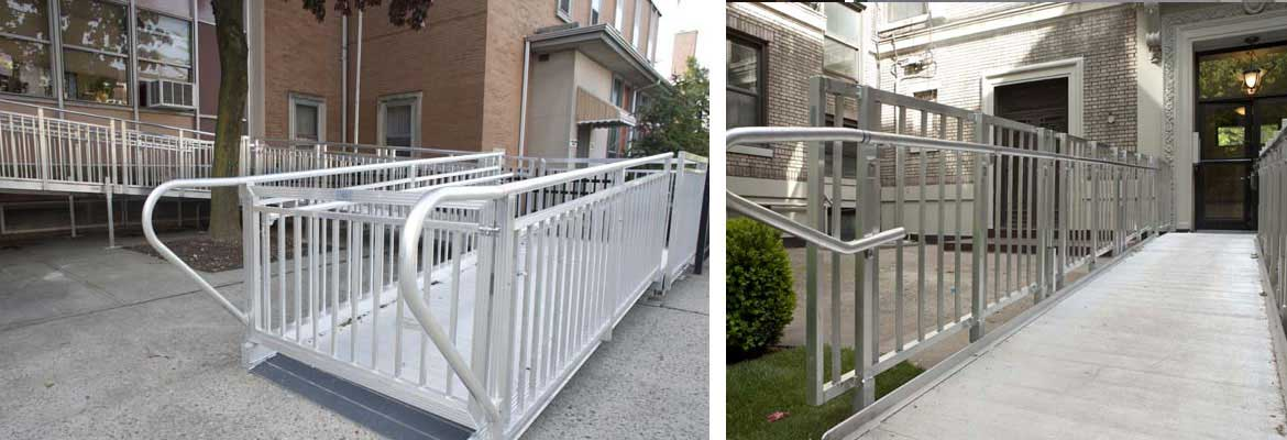 commercial aluminum ramp