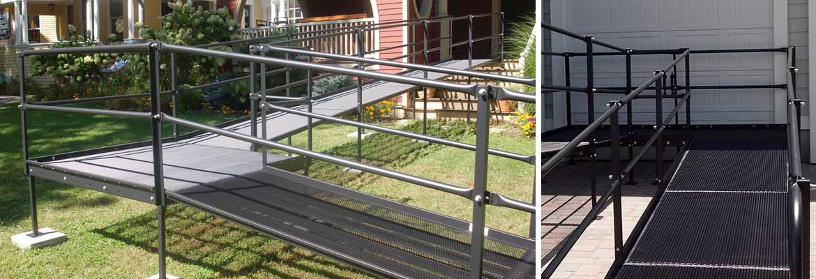 Steel Residential Entry Ramp