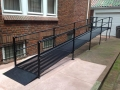 Steel Residential Wheelchair Ramp