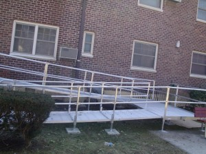 Aluminum Access Ramp