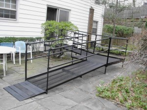Steel Access Ramp