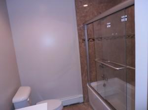 Bathtub with Glass Doors