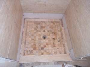 Tile Pan Shower Long Island