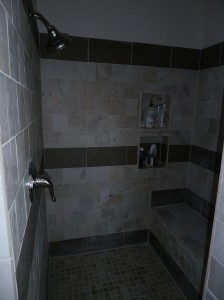 Shower with Bench Nassau Countu